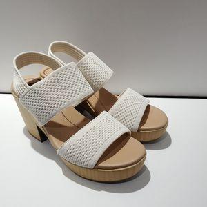 New DR. SCHOLL'S  Becca Block Heel Sandal Sz 8.5